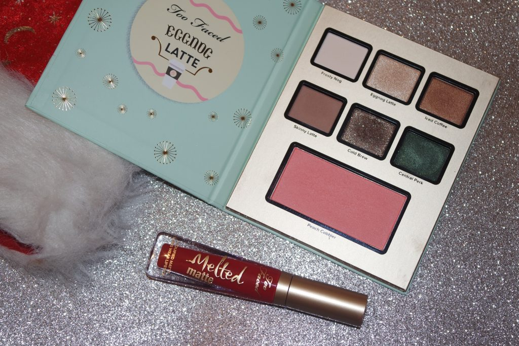Eggnog Latte Christmas in New York Too Faced Melted Matte Lady Balls Maquillage Noël