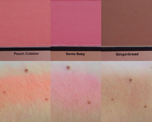 Grande Hotel Café Too Faced Swatch