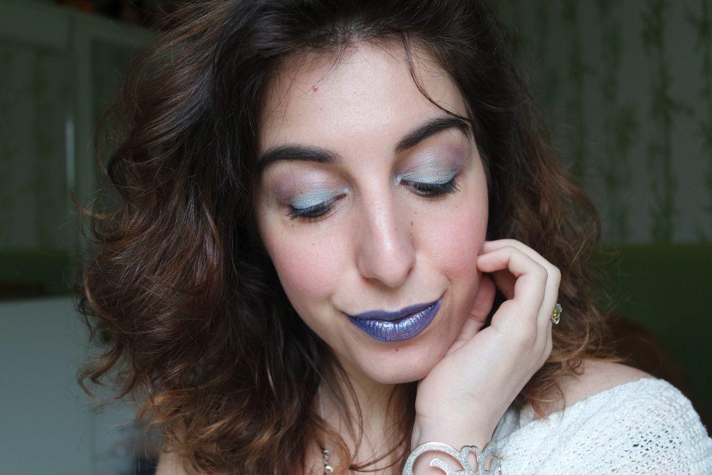 Monday Shadow Challenge bleu glacier maquillage