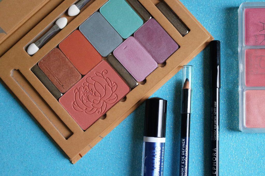 Monday Shadow Challenge bleu glacier maquillage couleur caramel Nyx Cosmic Metals