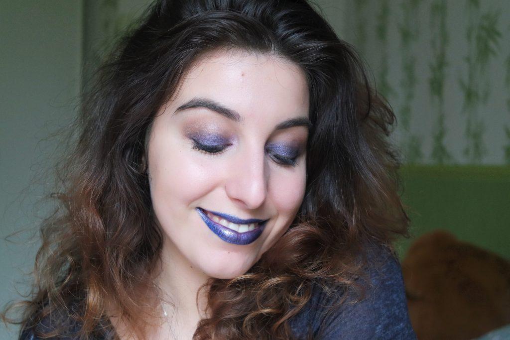 Monday Shadow Challenge maquillage indigo