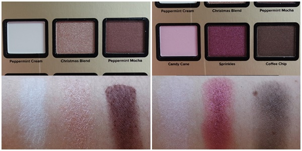 peppermint mocha grande hotel café too faced swatch