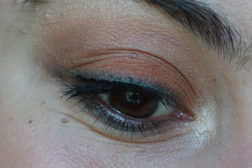 Monday Shadow Challenge Vert sapin maquillage