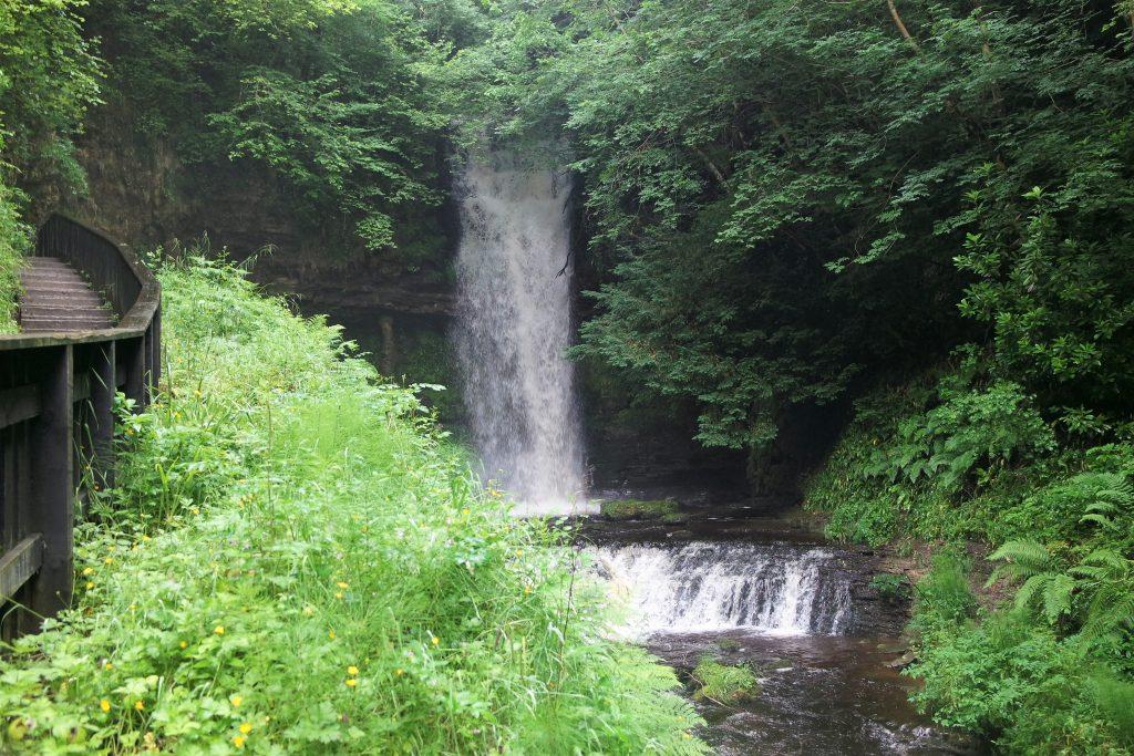 Glencar Waterfall, cascade Leitrim Irlande