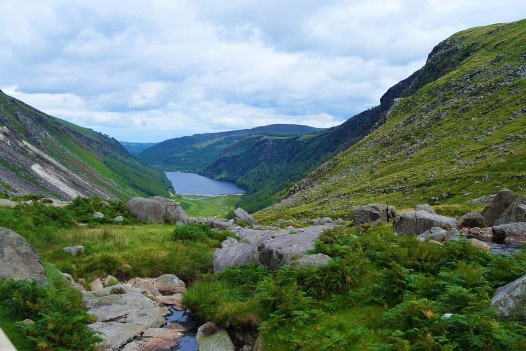 Glendalough Wicklow Irlande Visiter
