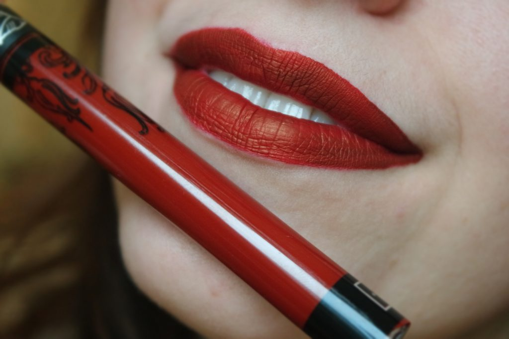 Everlasting Liquid Lipstick Kat Von D Nosferatu