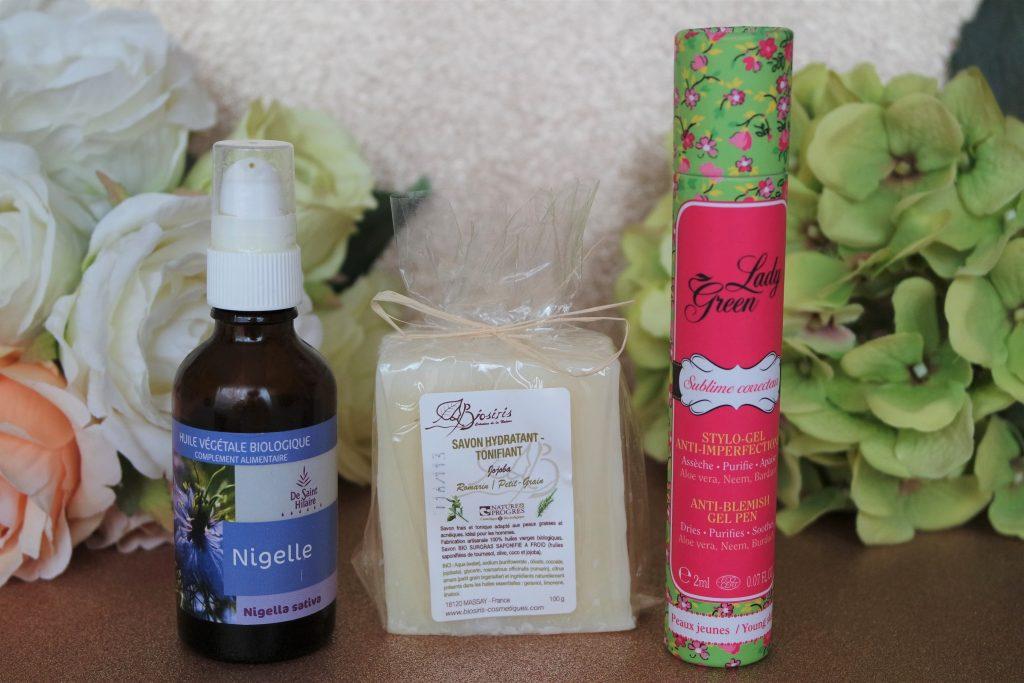 huile de nigelle savon jojoba lady green sublime correcteur