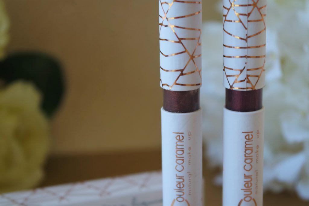 couleur caramel fards paupière liquides