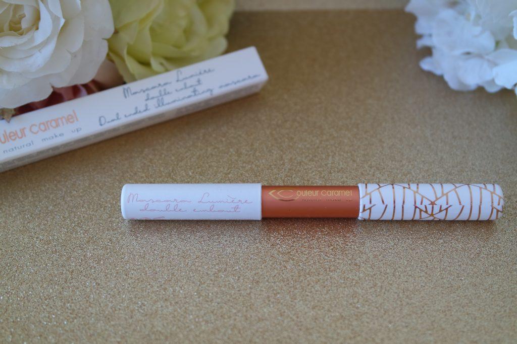 mascara lumiere double embout couleur caramel