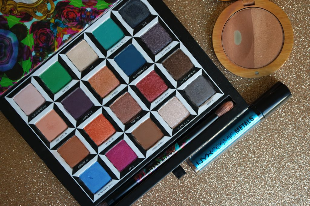 Urban Decay Alice in wonderland palette nyx cosmic metal