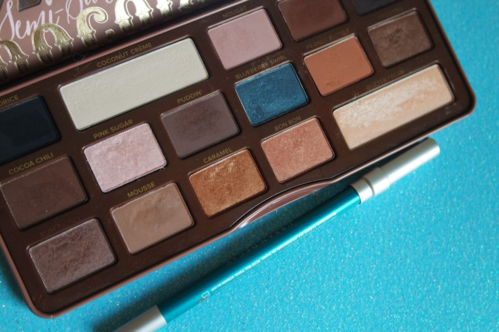 MONDAY SHADOW CHALLENGE TOO FACED URBAN DECAY