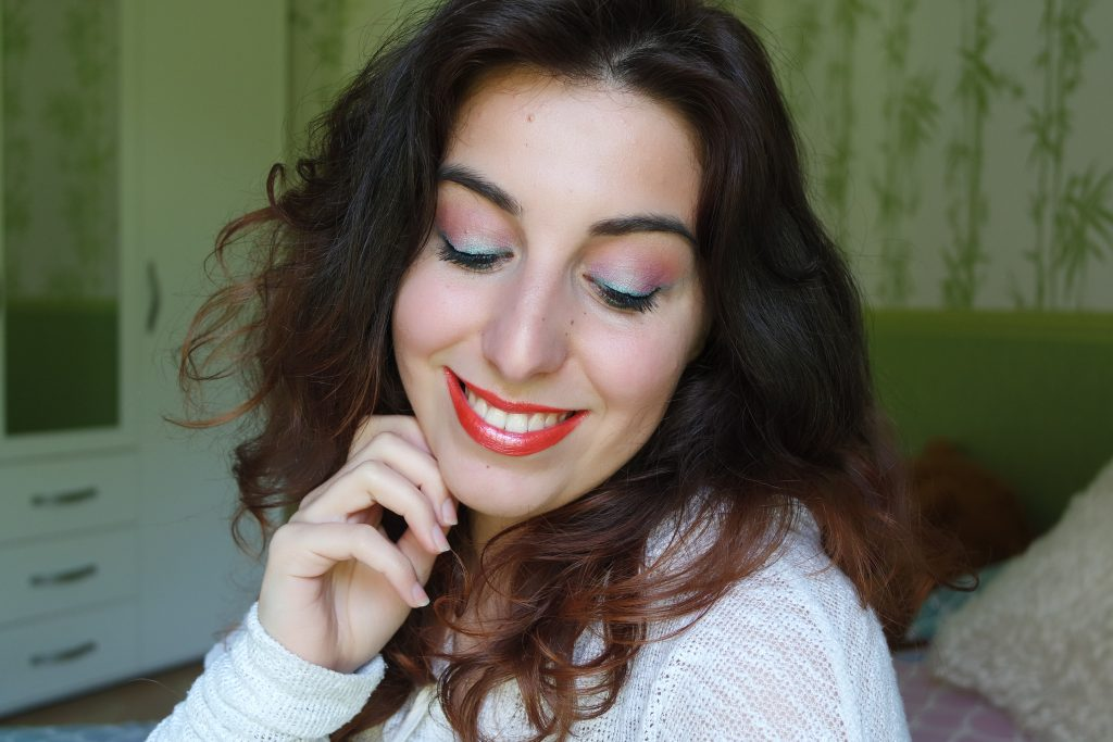 monday shadow Challenge peacock maquillage