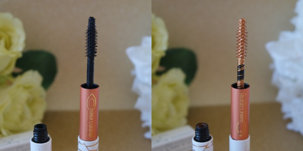 mascara double embout couleur caramel