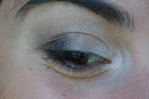 maquillage monday shadow challenge noir blanc