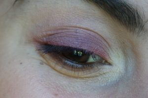 maquillage monday shadow challenge jaune pastel lilas