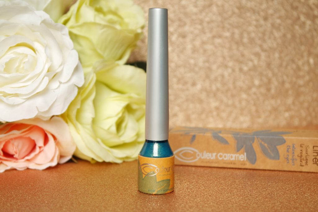 Eye liner bio couleur caramel bleu