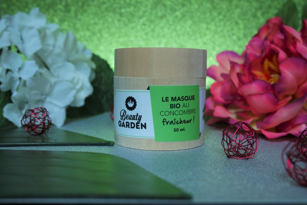 masque beauty garden concombre