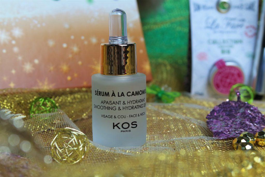 sérum camomille Kos Paris Biotyfull Box Décembre