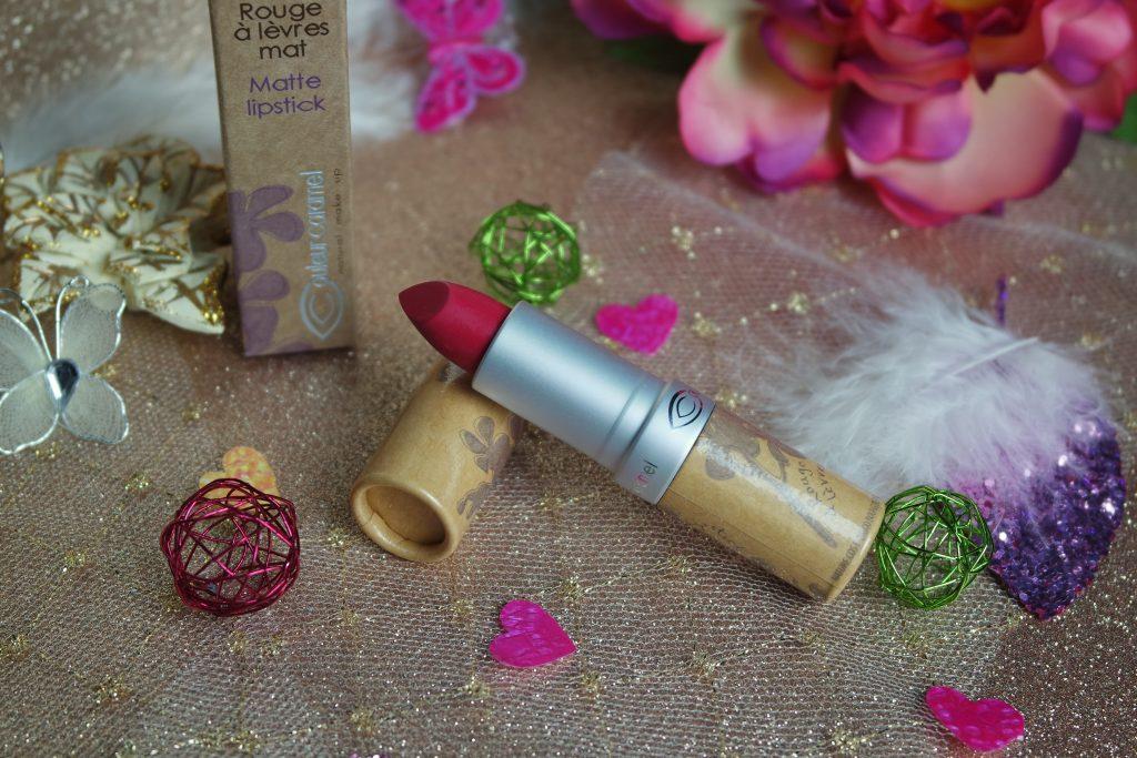 rouge à lèvre couleur caramel 123 Rose vif