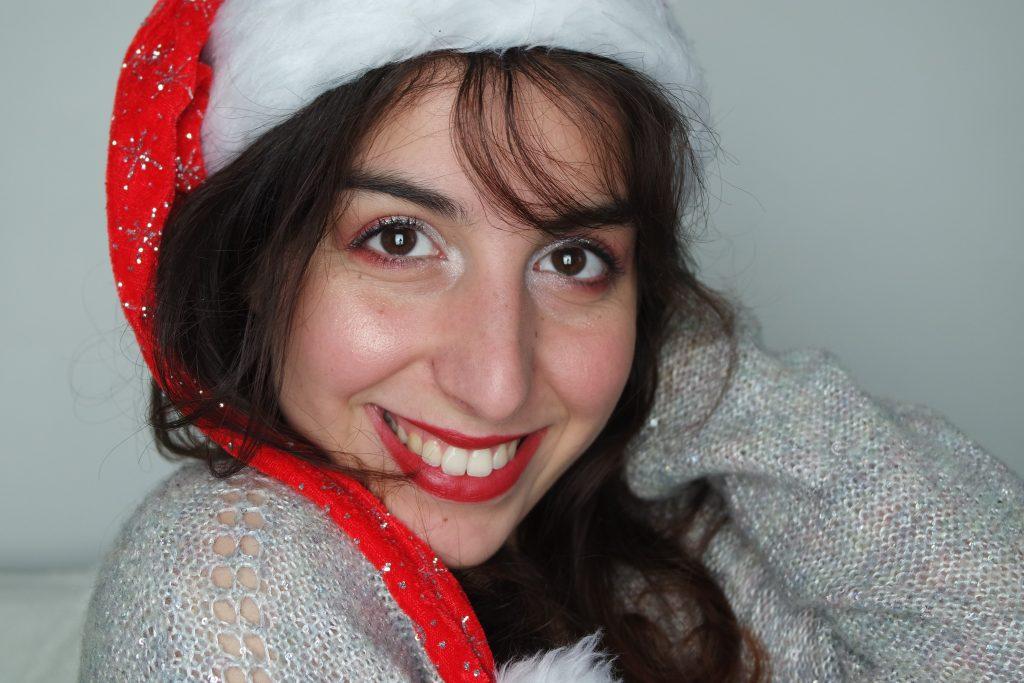 maquillage rouge et blanc rendez vous beauté noel