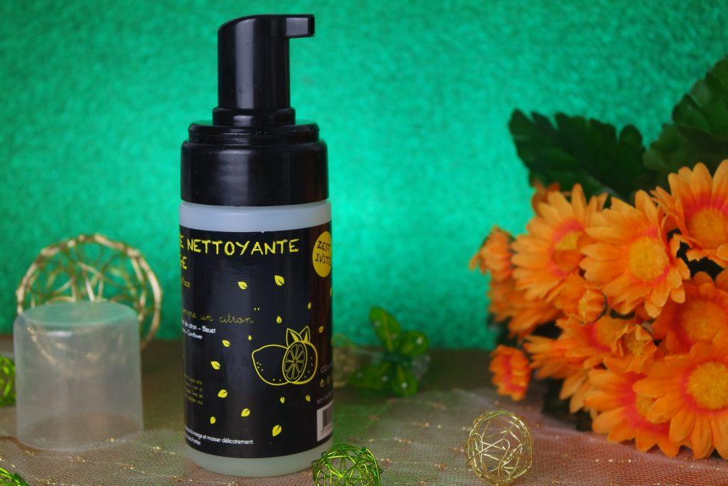 mousse nettoyante fg cosmetique soin naturel