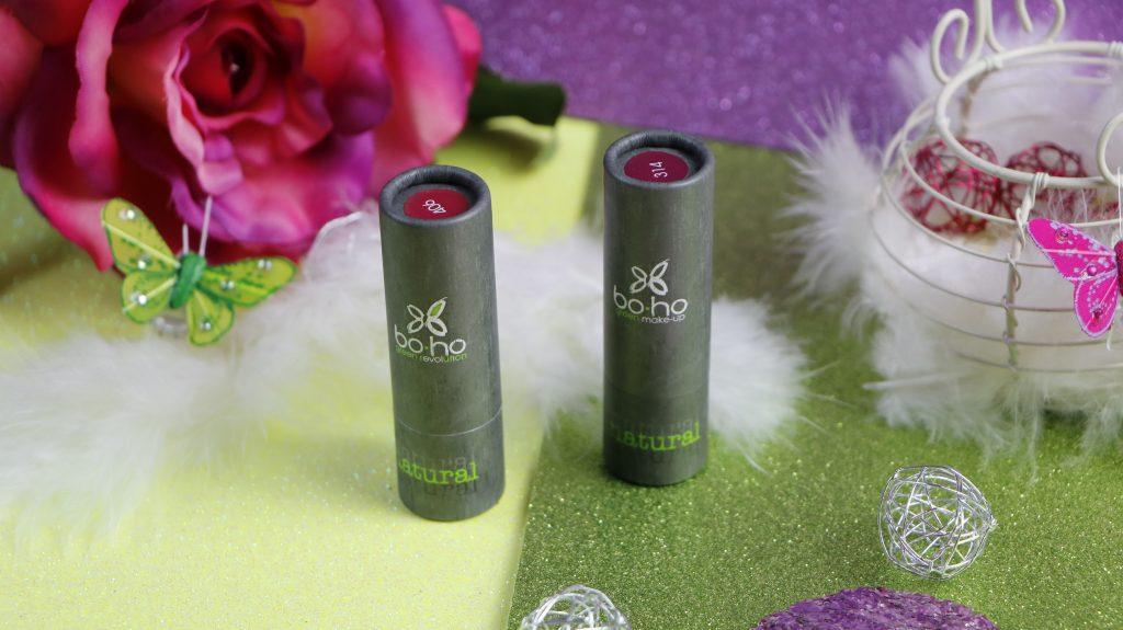 Boho green makeup rouge à lèvres bio freedom cassis