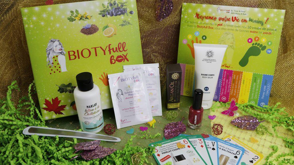 Biotyfull box coup de pouce mars revue