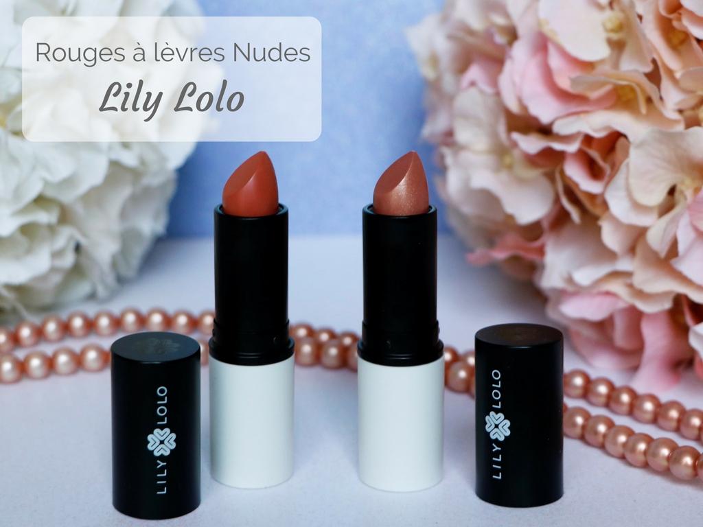 Rouges à lèvres Nudes