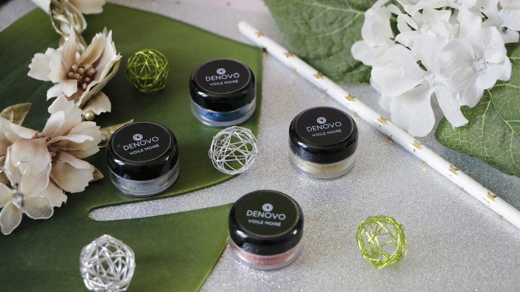 pigments naturels denovo maquillage joyaux