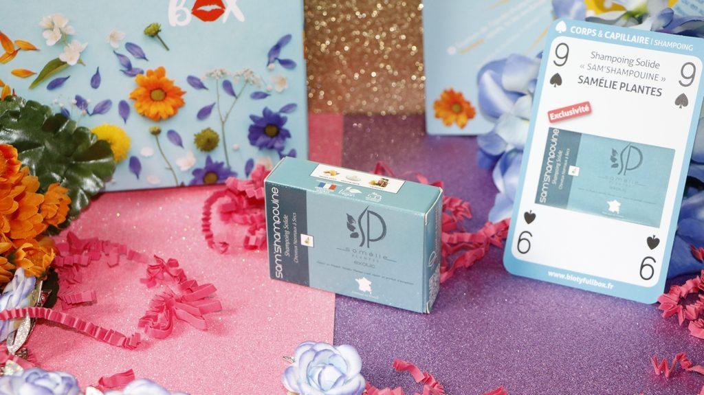 shampoing solide samelie plantes biotyfull box mai