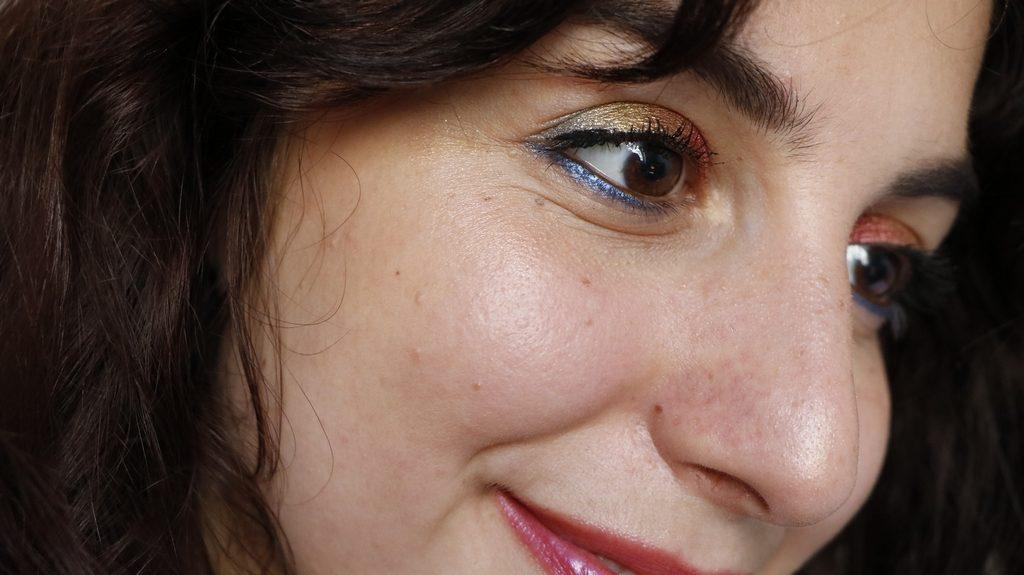 Maquillage arc en ciel mineral