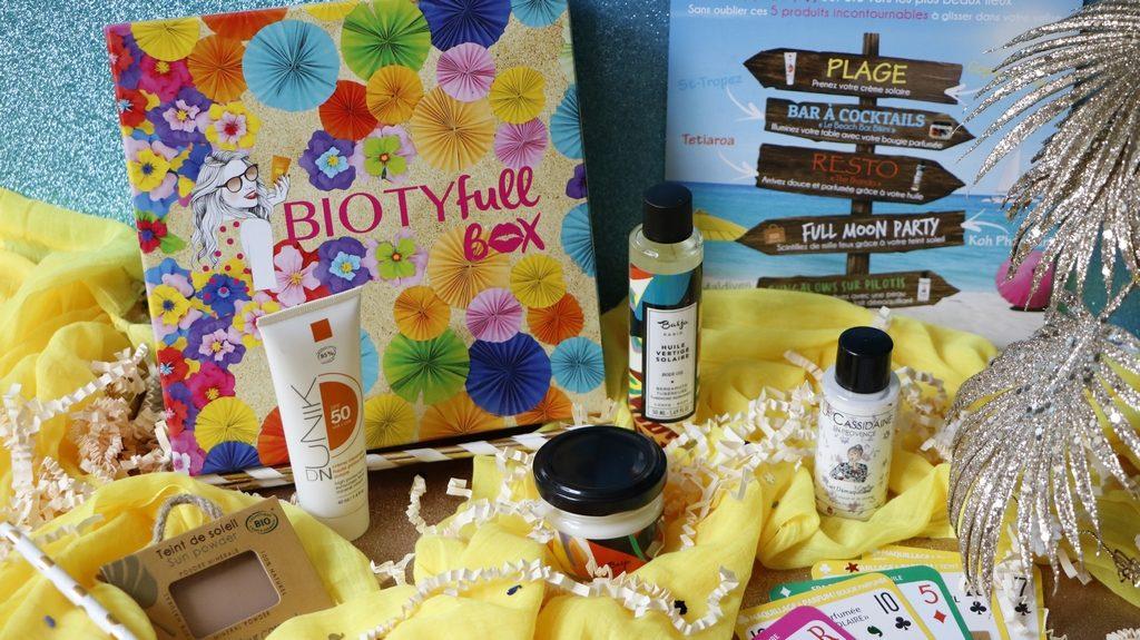 Biotyfull Box juillet box beauté bio