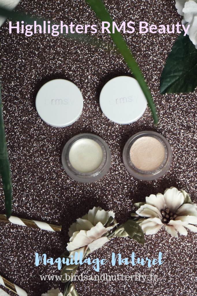 Découvrez ma revue sur les highlighters RMS Beauty Magic Luminizer et Living Luminizer