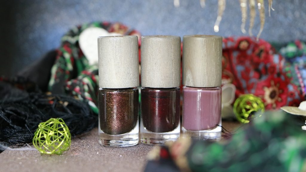 collection rocks boho green makeup vernis
