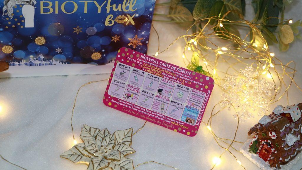 biotyfull box carte de fidelite décembre
