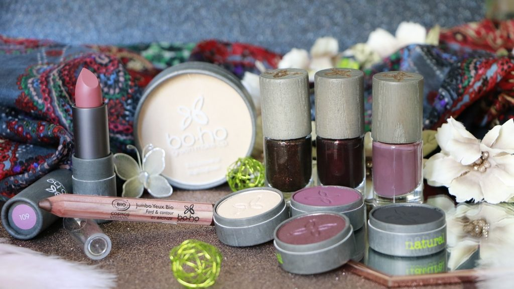 colletion rocks boho green make up maquillage bio