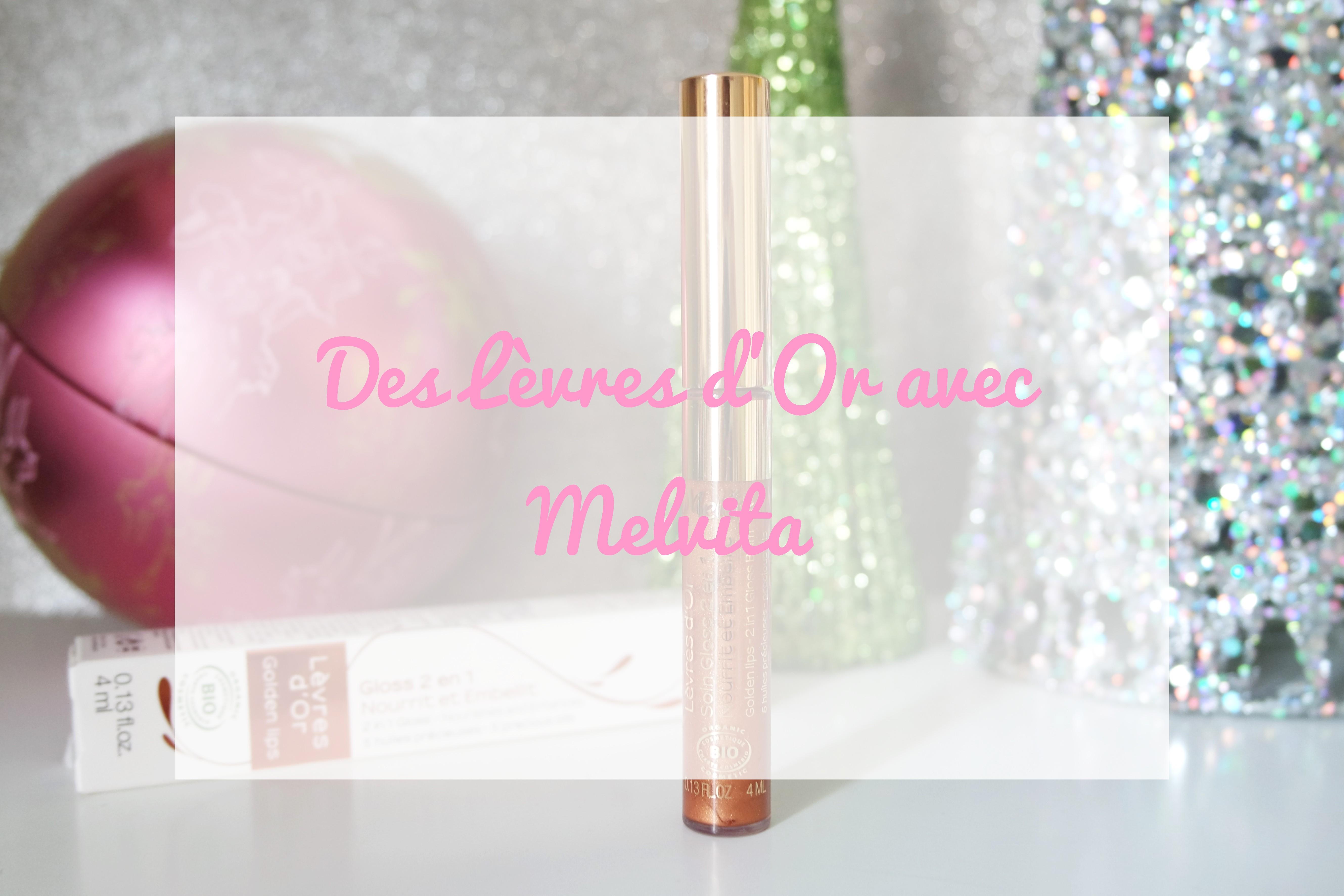 melvita gloss lèvres d'or