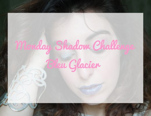 Monday Shadow Challenge bleu glacier maquillage