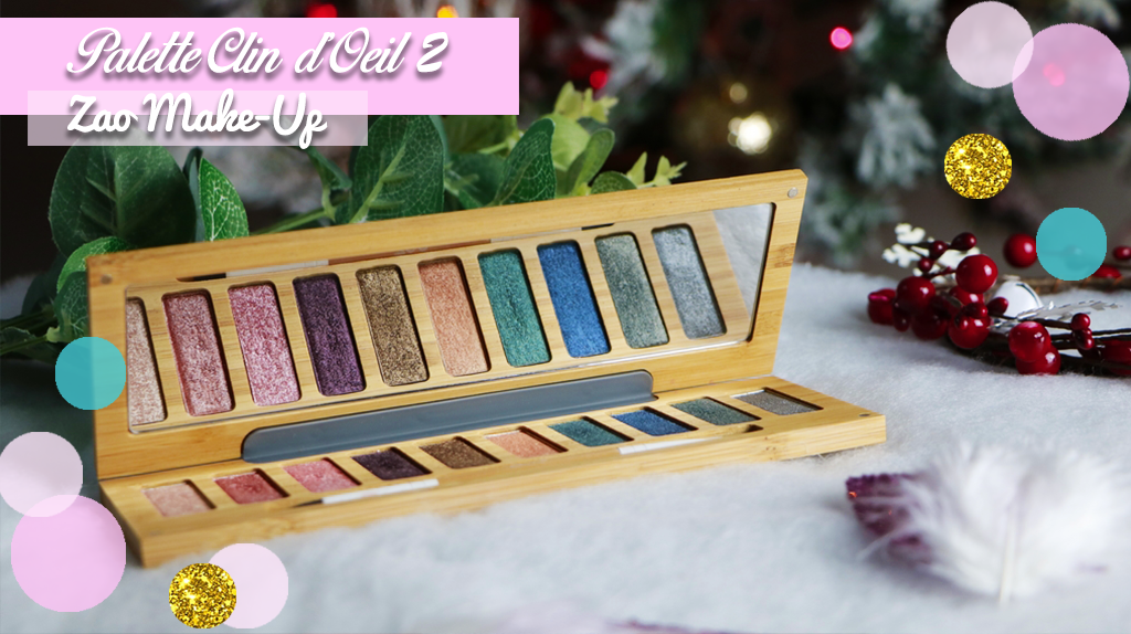 palette clin d oeil 2 zao make up maquillage bio maquillage vegan