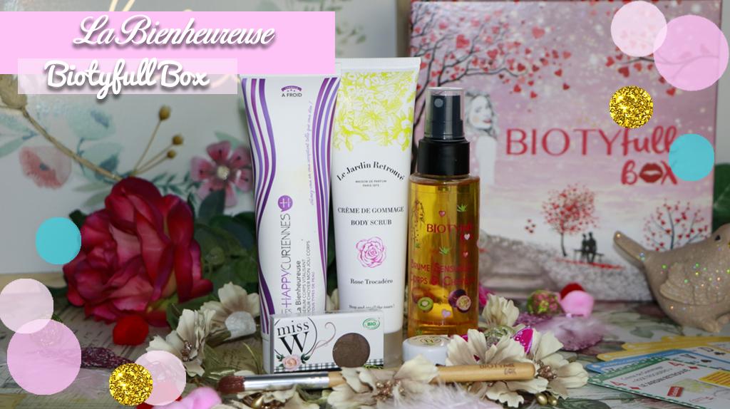 biotyfull box février la bienheureuse