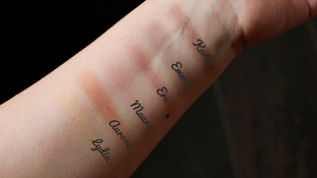 Swatch lovely palette ere perez