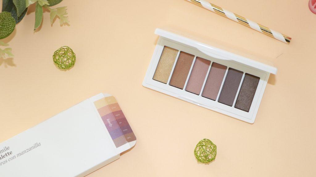 palette fard à paupières naturel ere perez chamomile eyeshadow palette lovely