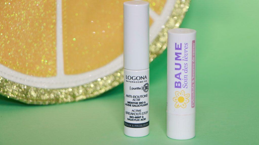 soins anti bouton baume lèvres bio