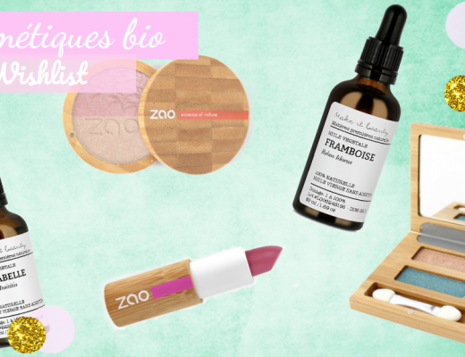 Wishlist cosmetique bio zao make it beauty rms beauty