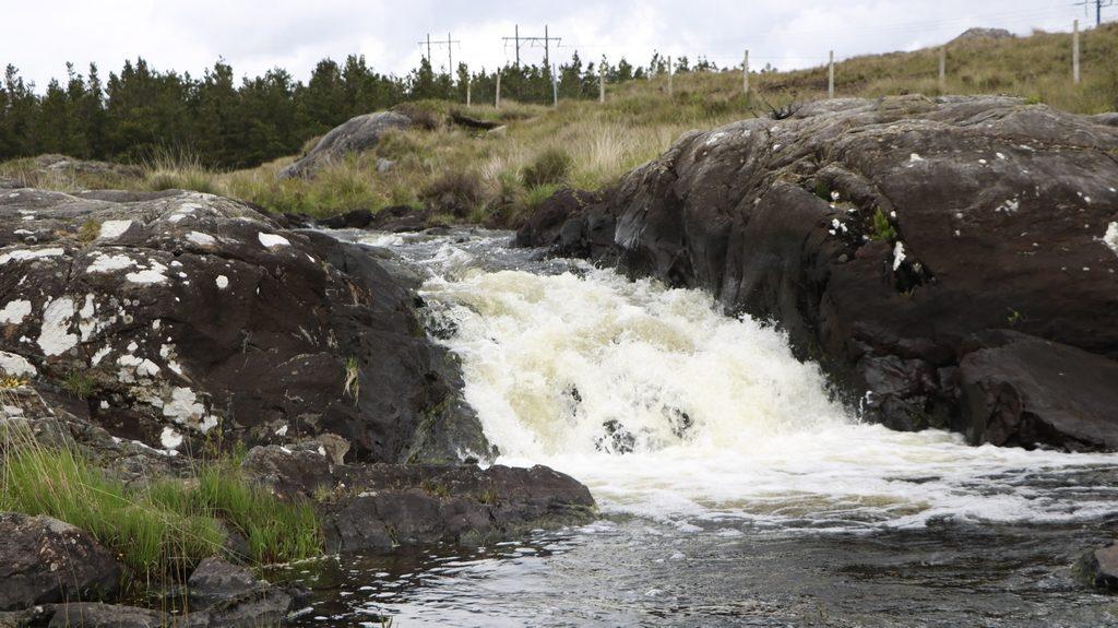 screebe waterfall connemara irlande voyage en 5 jours