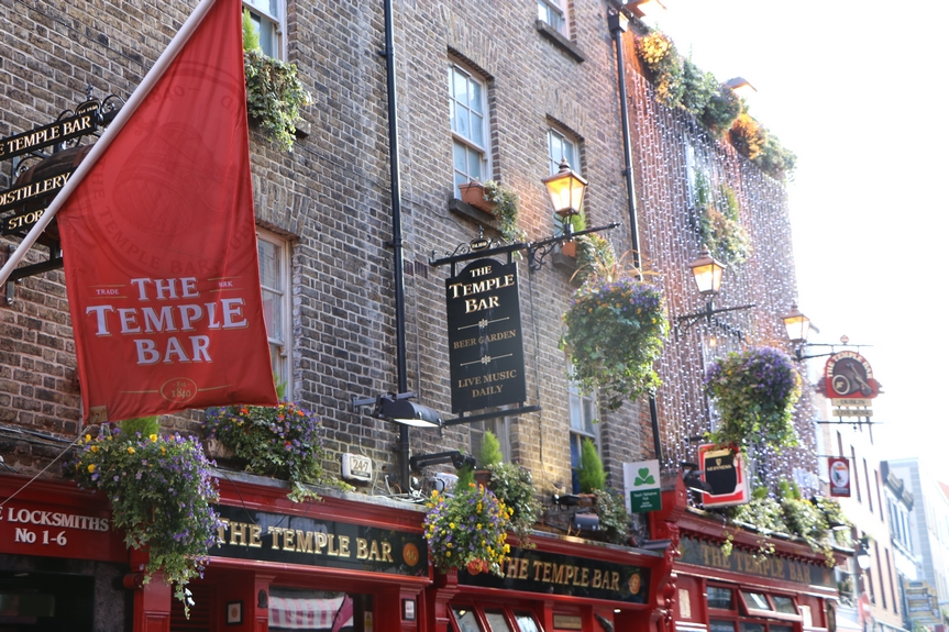 the temple bar dublin irlande tour en 5 jours