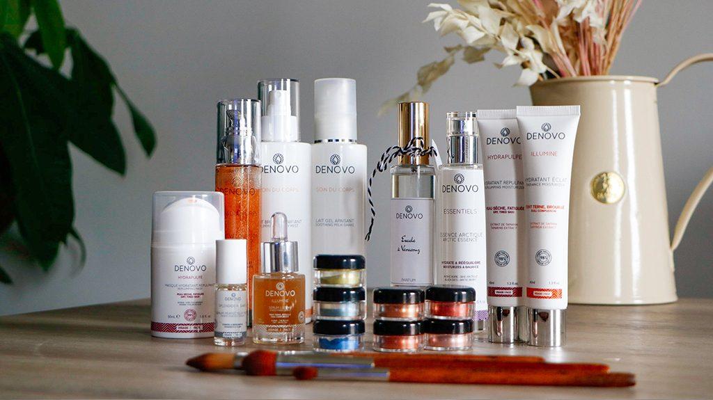 Cosmétique naturelle soins visage corps maquillage bio