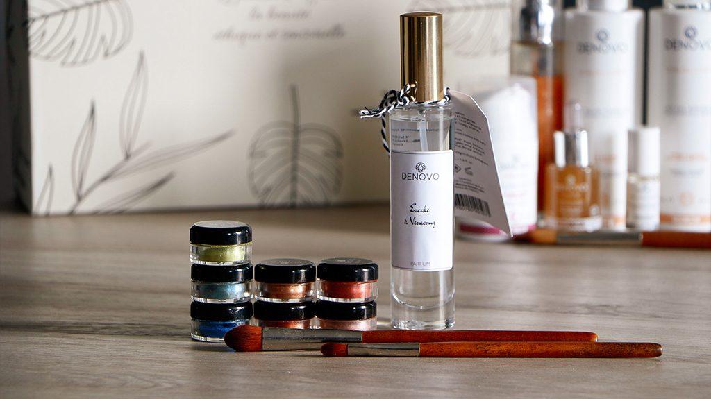 fards à paupières denovo parfum escale a veracruz pinceau denovo