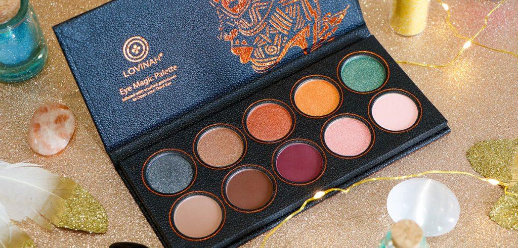 palette de maquillage Eye magic de lovinah beauty