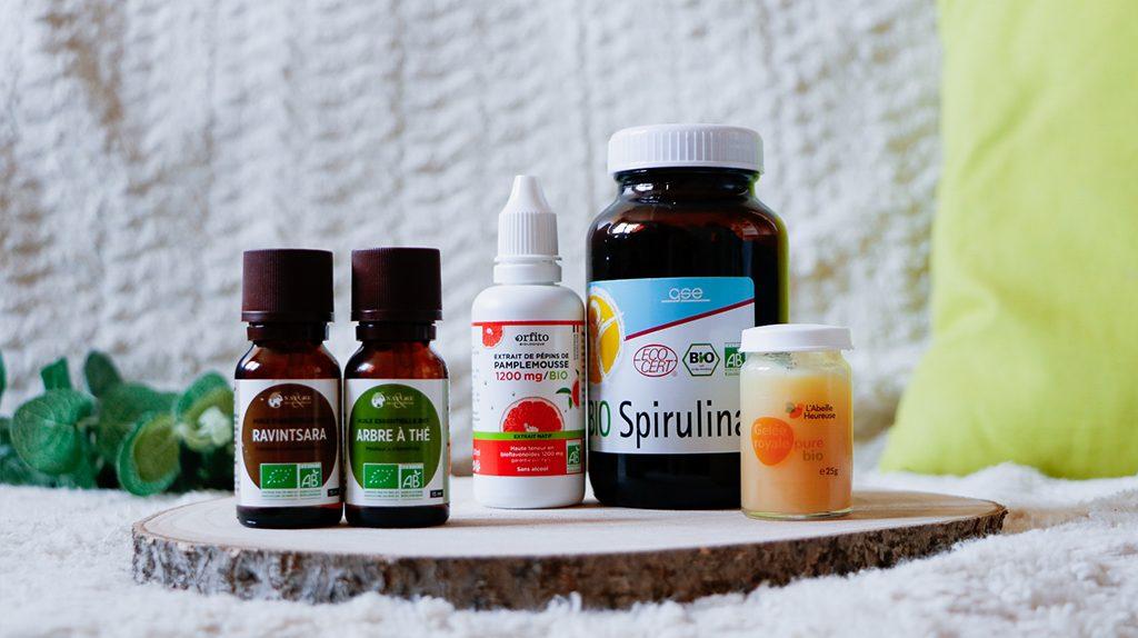 booster-defenses-immunitaires-naturellement spiruline gelée royale huiles essentielles